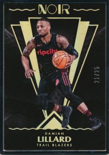 Rookie Star RS3様 2017-18 PANINI NOIR Metal Damian Lillard 25枚限定