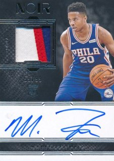 Rookie Star RS21様 2017-18 PANINI NOIR RC Patch Auto Markelle Fultz 99枚限定