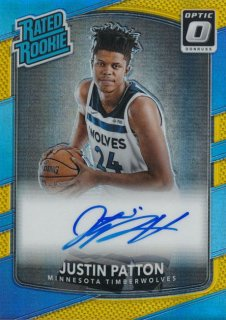 Rookie Star RS25様 2017-18 PANINI DONRUSS OPTIC RC Gold Prizm Auto Justin Patton 10枚限定