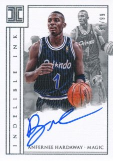 Rookie Star RS64様 2017-18 PANINI IMPECCABLE Auto Anfernee Hardaway 99枚限定