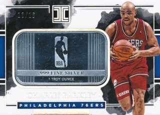 Rookie Star RS64様 2017-18 PANINI IMPECCABLE Silver Charles Barkley 16枚限定