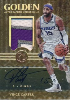 Rookie Star RS64様 2017-18 PANINI OPULENCE Patch Auto Vince Carter 10枚限定