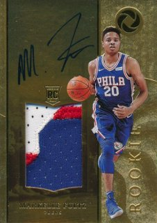 Rookie Star RS64様 2017-18 PANINI OPULENCE RC Patch Auto Markelle Fultz 79枚限定