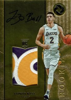 2017-18 Panini Opulence Rookie Patch Autographs Lonzo Ball 【25枚限定】 / MINT渋谷店 H様