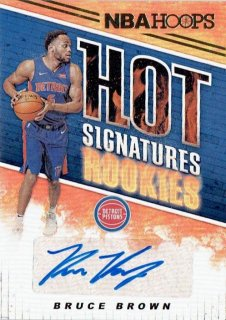 2018-19 PANINI HOOPS Hot Signatures Rookies Bluce Brown / MINT立川店 第八係様