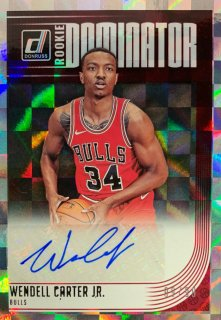 2018-19 PANINI DONRUSS Rookie Dominators Wendell Carter Jr. 【99/99】 / MINT新宿店 ねりまつ様