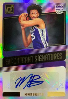 2018-19 PANINI DONRUSS Significant Signatures Marvin Bagley � / MINT新宿店 ねりまつ様