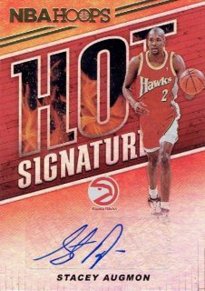 2018-19 PANINI HOOPS Hot Signatures Stacey Augmon / MINT立川店 ひじき様