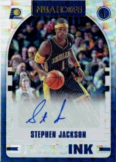 2018-19 PANINI HOOPS Hoops Ink Autograph Card Stephen Jackson / MINT立川店 第八係様