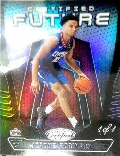 2018-19 Panini Certified Certified Future Black Jerome Robinson【1of1】ミント札幌店 カビー様