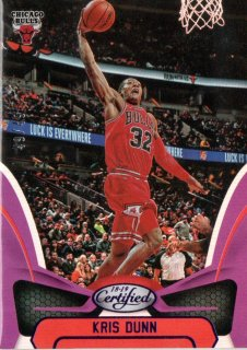 2018-19 PANINI CERTIFIED Kris Dunn  Purple 【49枚限定】 / MINT吉祥寺店 みっちー様