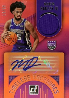 2018-19 PANINI DONRUSS Timeless Treasures Autographs Marvin Bagley � 【99枚限定】 / MINT新宿店 k@i様