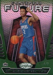 18-19 Panini Certified Future Parallel (Green) Shai Gilgeous-Alexander【5枚限定】MINT梅田店 ジョーダン様