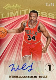 2018-19 PANINI ABSOLUTE Autographs Wendell Carter Jr. 【99枚限定】 / MINT新宿店 おじぃ様