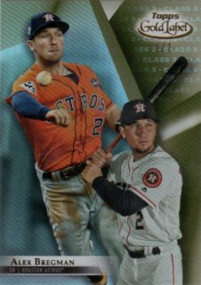 2018 TOPPS GOLD LABEL Class 3 Gold Alex Bregman【1of1!!】/ MINT千葉店 不安外様