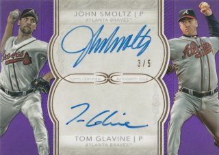 2018 TOPPS DEFINITIVE COLLECTION Dual Autographs John Smoltz/Tom Glavine【5枚限定】/MINT新宿店 ヨッシャー!!様