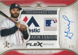 2018 TOPPS DEFINITIVE COLLECTION Base Autograph Relic Collection Jose Altuve【1of1】/MINT新宿店 ヨッシャー!!様