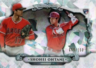 2018 Bowman Chrome Sterling Continuity (Atomic) Shohei Ohtani【150枚限定】MINT梅田店 ???様