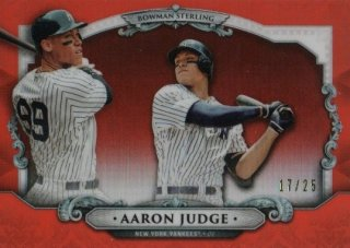 2018 Bowman Chrome Sterling Continuity (Orange) Aaron Judge【25枚限定】MINT梅田店 MrM様