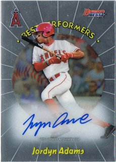2018 Bowman's Best '98 Best Performers Autographs Jordyn Adams/MINT池袋店 y@ma様