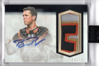 2018 Topps DynastyAutographed Patch Buster Posey【10枚限定】MINT福岡店 月影勝護様