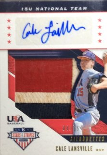 2019 Panini Stars & Stripes USA BB 15U National Team AUTO Cale Lansville【25枚限定】/MINT広島店 ロペス様[4月]