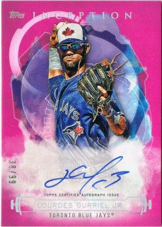 2019 Topps Inception Lourdes Rookies & Emerging Stars Autographs Gurriel Jr. /MINT池袋店 ヨッシャー様[4月]