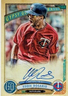 2019 TOPPS GYPSY QUEEN Autograph Card Eddie Rosalio / MINT立川店 ひじき様[4月]