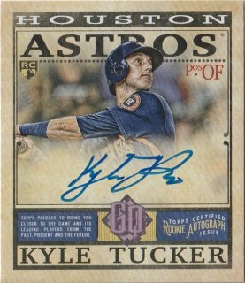2019 Topps Gypsy Queen Mini Rookie Autographs Kyle Tucker/MINT新宿店 k@i様[4月]