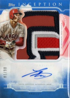 2019 TOPPS Inception Autographs Blue Shohei Ohtani【06/10】/ MINT神田店 忘れ物を取りに来ました様[4月]