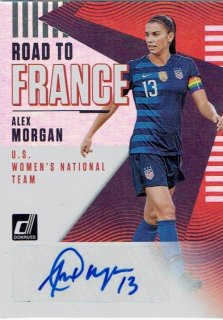 2018-19 PANINI DONRUSS SOCCER Road to France Autograph Card Alex Morgan / MINT立川店 H様[4月]