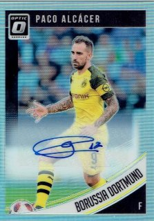 2018-19 PANINI DONRUSS SOCCER Optic Autograph Card Paco Alcacer / MINT立川店 イエティ様[4月]
