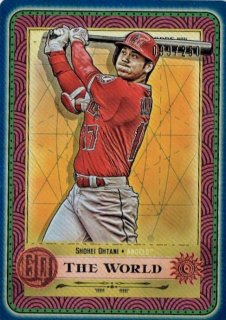 2019 TOPPS GYPSY QUEEN Tarot of the Diamond Indigo Shohei Ohtani 【250枚限定】 / MINT立川店 第八係様[4月]