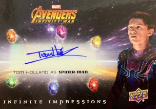 2018 UD AVENGERS INFINITY WAR Autographs Tom Holland / MINT新宿店 大泉積郎 [4月]