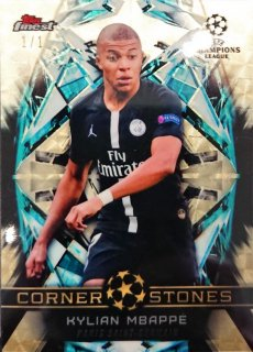 2018-19 Topps Finest UEFA Champions League SuperFractor Kylian Mbappé【1枚限定】/MINT福岡店 N様[4月]
