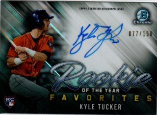 2019 TOPPS BOWMAN Chrome ROY Favorites Auto Kyle Tucker 【150枚限定】 / MINT池袋店 y@ma様[4月]