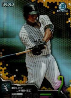 2019 TOPPS BOWMAN Chrome Scouts' Top 100 Gold Eloy Jimenez 【50枚限定】 / MINT池袋店 y@ma様[4月]