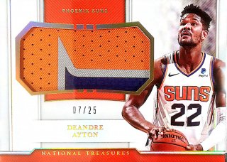 2018-19 Panini National Treasures Rookie Materials Prime Deandre Ayton【25枚限定】ミント札幌店 くまきち様[5月]
