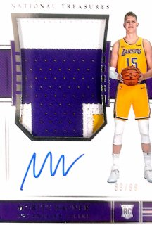 2018-19 Panini National Treasures Rookie Patch Auto Moritz Wagner【99枚限定】ミント札幌店 くまきち様[5月]