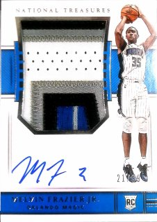 2018-19 Panini National Treasures Rookie Patch Auto Melvin Frazier Jr.【99枚限定】ミント札幌店 くまきち様[5月]