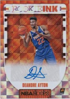 2018-19 Panini Hoops Rookie Ink Deandre Ayton  /MATCHUP F様