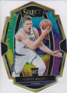2018-19 Panini Select Rookie Die-Cut Tie-Dye Prizms Moritz Wagner【25枚限定】/MATCHUP 2様