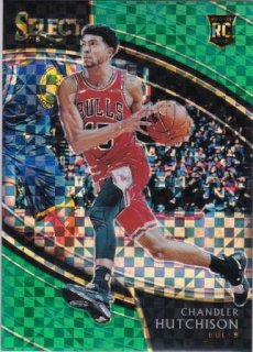 2018-19 Panini Select Green Prizms Chandler Hutchson【5枚限定】/MATCHUP V2様