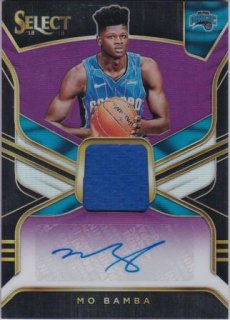 2018-19 Panini Select Rookie Jersey Autographs Purple Mo Mamba【99枚限定】/MATCHUP HYU様