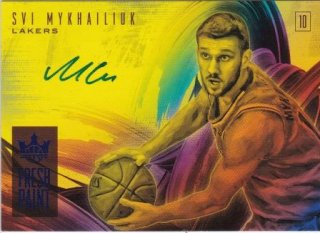 2018-19 Panini Courtkings Fresh Paint Autographs Svi Mykhailiuk【25枚限定】/MATCHUP GP様