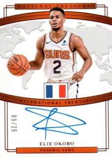 18-19 Panini National Treasures International Auto (Bronze) Elie Okobo【25枚限定】MINT梅田店 じょーだん様[5月]
