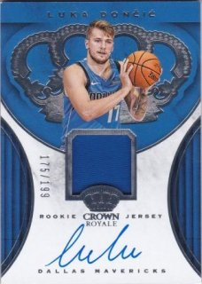 2018-19 Panini Crown Royale Rookie Jersey Autographs Luka Doncic【199枚限定】/MATCHUP SHINYA様