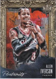 2018-19 Panini Courtkings Portlaits Platinum Allen Iverson【1枚限定】/MATCHUP F様