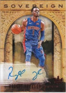 2018-19 Panini Courtkings Sovereign Autographs Reggie Jackson【25枚限定】/MATCHUP 石原様