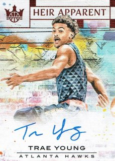 2018-19 COURT KINGS Auto Trae Young【99枚限定】えびすスポーツカード basketball様